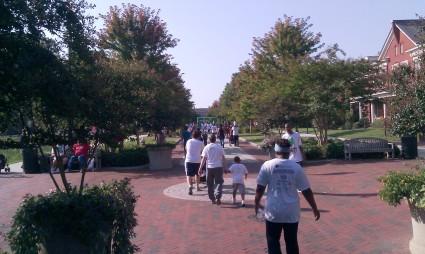 Run/Walk participants
